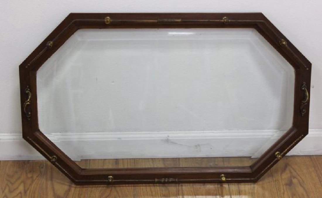 :Brass & Glass Drop-Side Teacart - 6