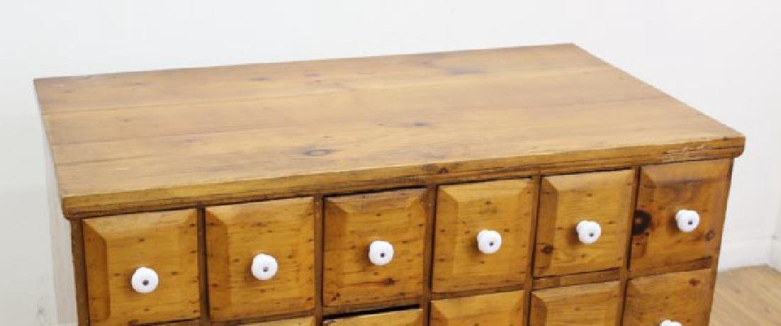 American Colonial Pine Apothecary Chest - 4