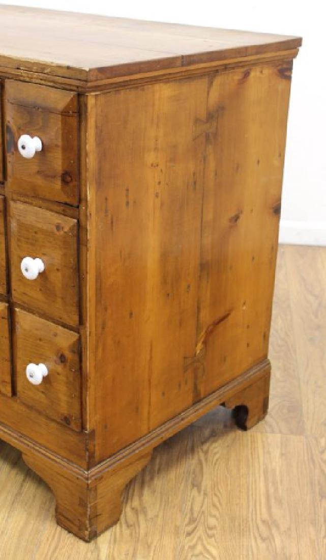 American Colonial Pine Apothecary Chest - 5