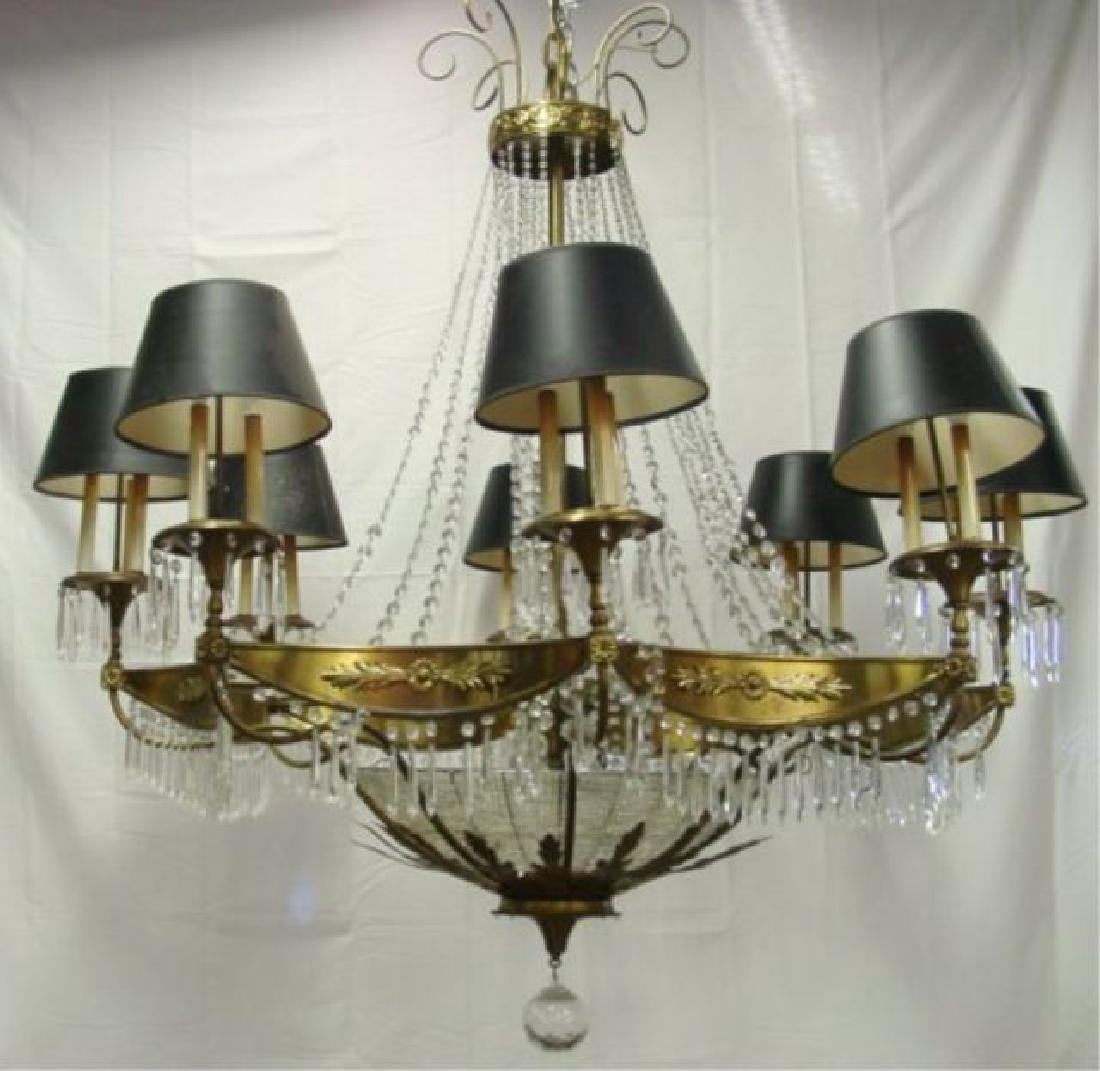 Crystal Palace-Size Chandelier