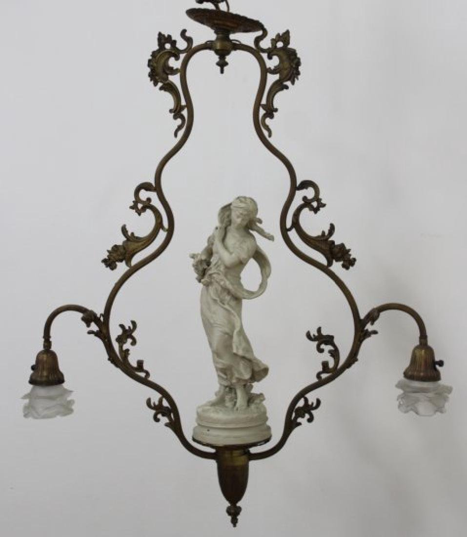 French Style Bronze Chandelier