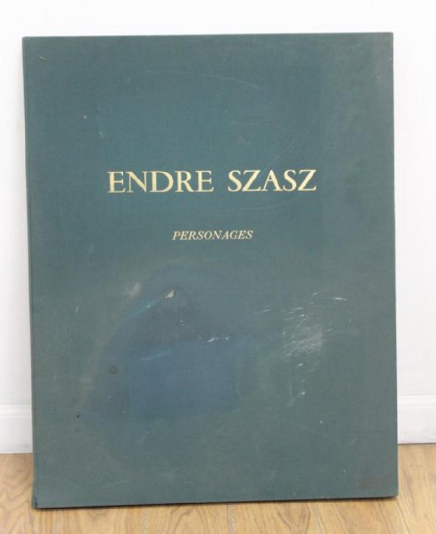 """Endre Szasz """"Personages"""" Portfolio"""
