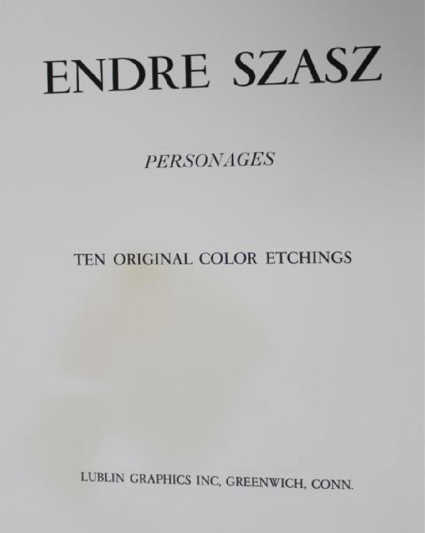 """Endre Szasz """"Personages"""" Portfolio - 2"""