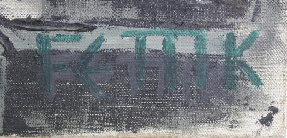 2 Oil Paintings - 3