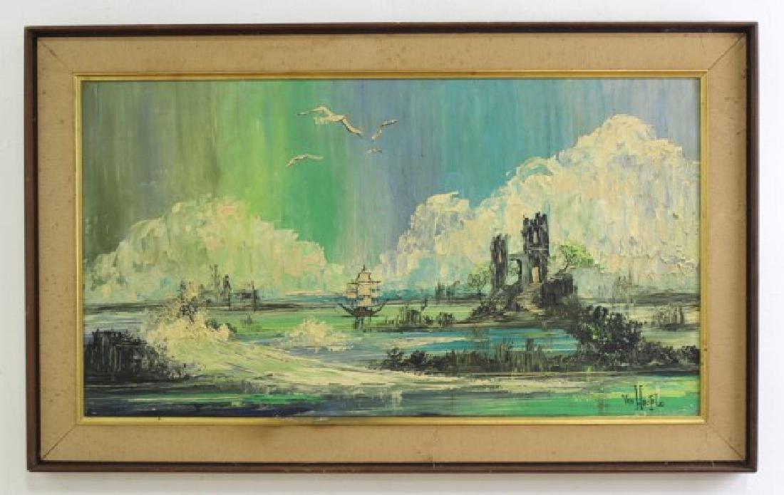 2 Oil Paintings - 4