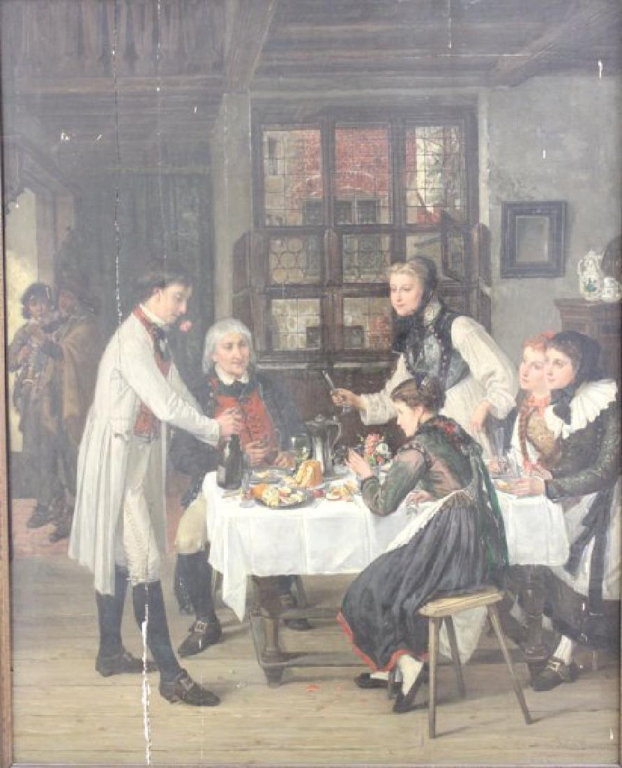 Jules Wagner, Family Dinner