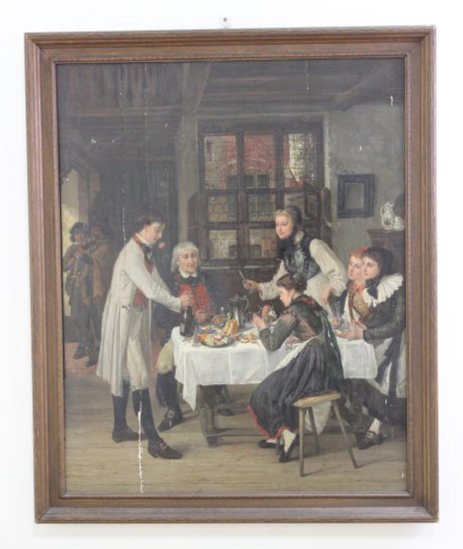 Jules Wagner, Family Dinner - 2