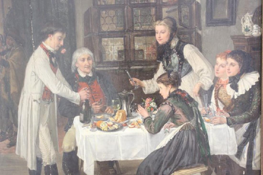Jules Wagner, Family Dinner - 3