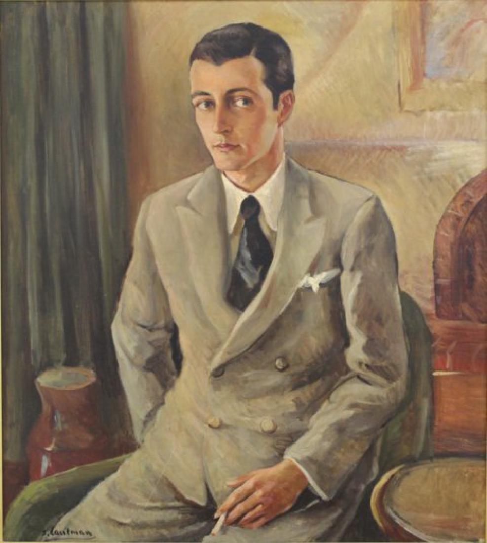 Sidney Laufman, Portrait of Leonard Sillman