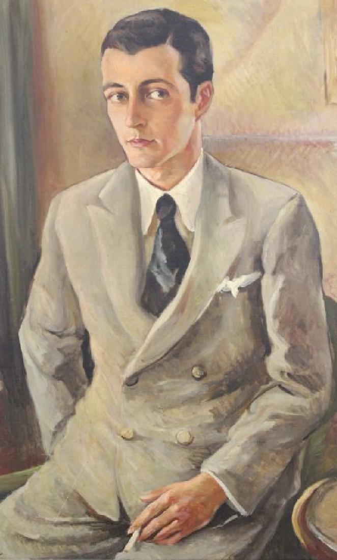 Sidney Laufman, Portrait of Leonard Sillman - 3