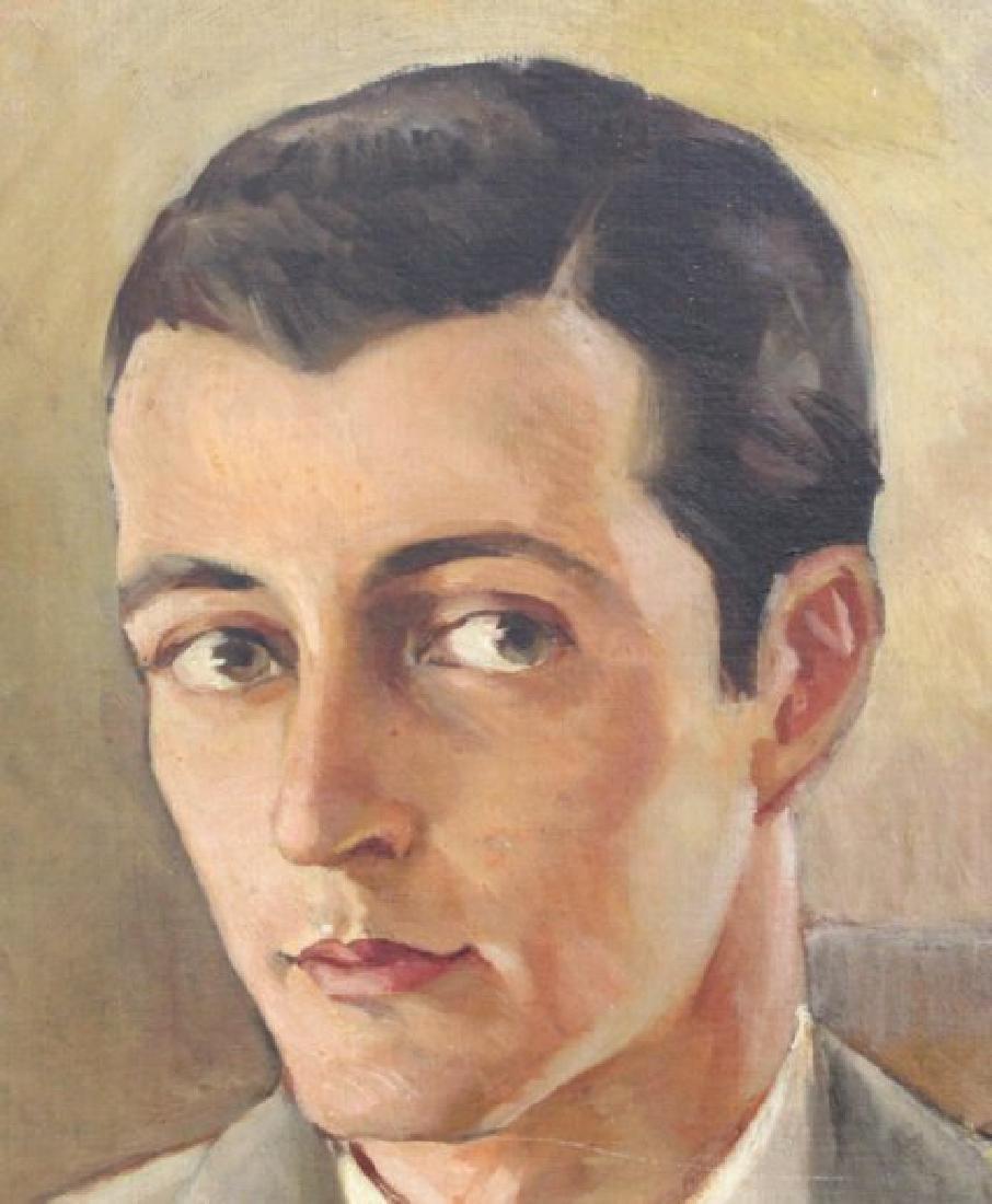 Sidney Laufman, Portrait of Leonard Sillman - 4