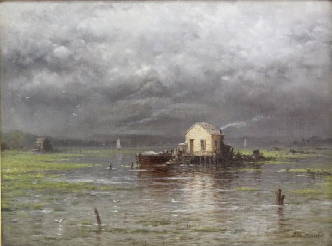 George Riecke, Coastal Landscape