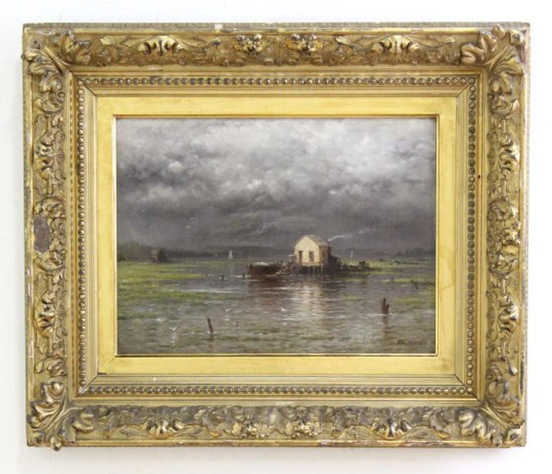 George Riecke, Coastal Landscape - 2