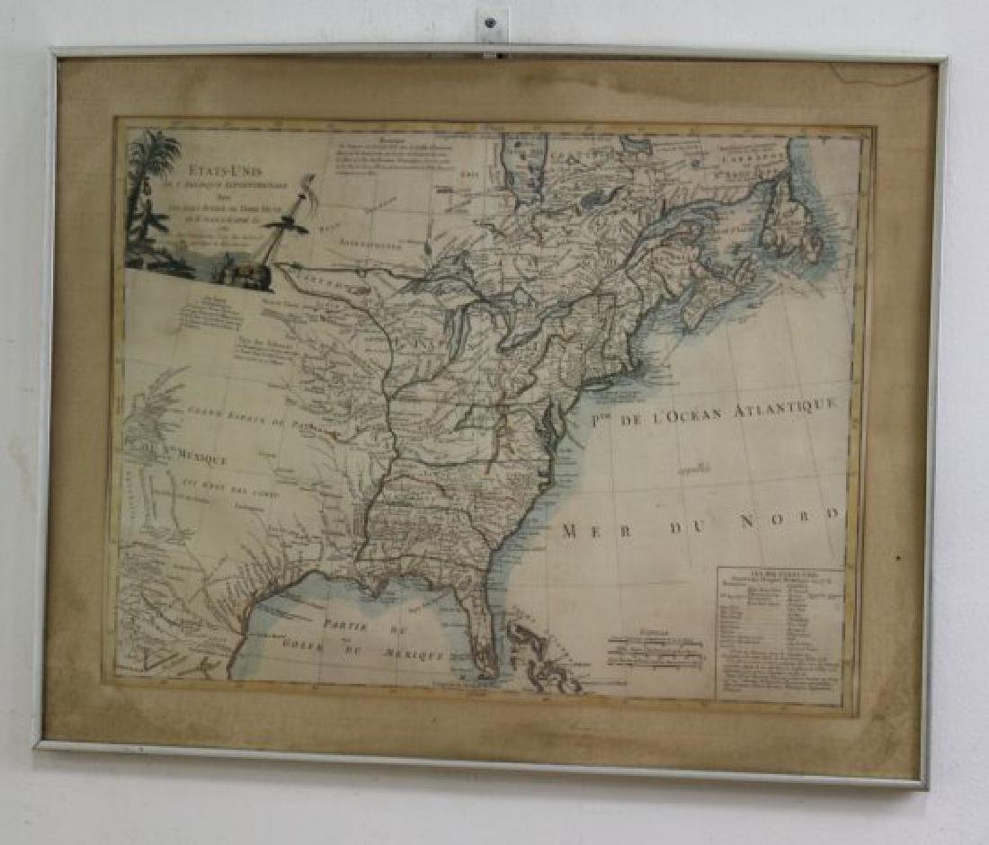 E.F. Delamarche,  French Framed Map - 2