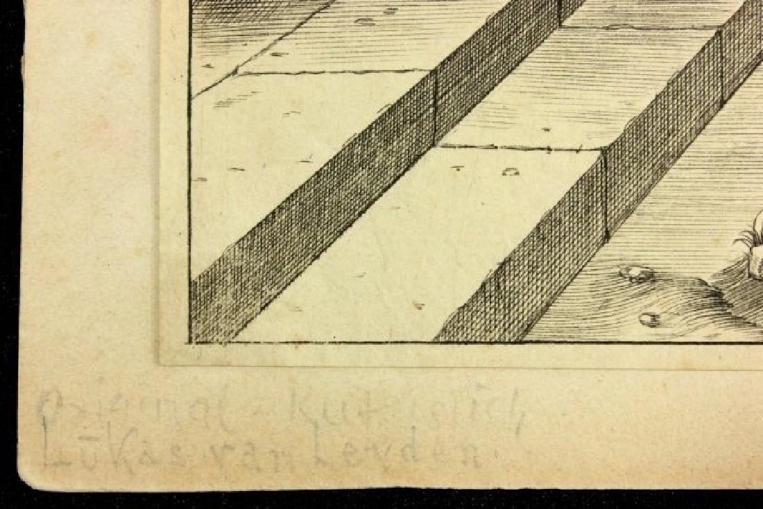 Lucas Van Leyden, Ecce Homo Engraving - 2