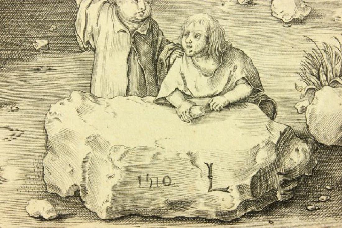 Lucas Van Leyden, Ecce Homo Engraving - 7