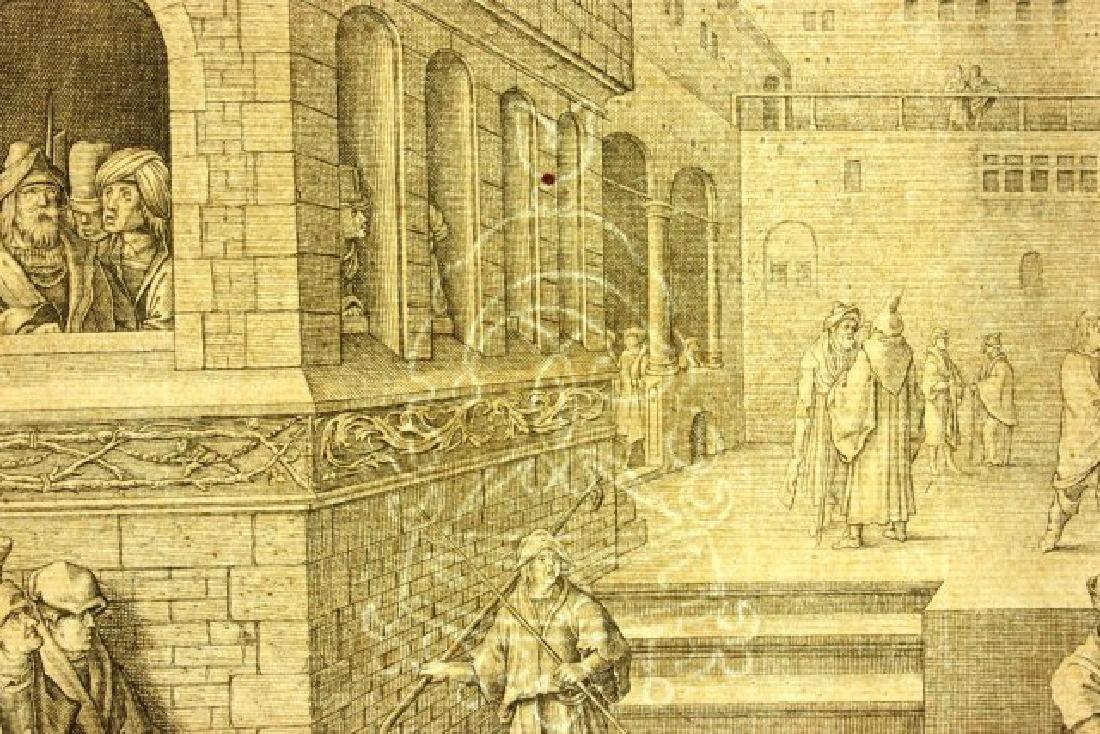 Lucas Van Leyden, Ecce Homo Engraving - 8