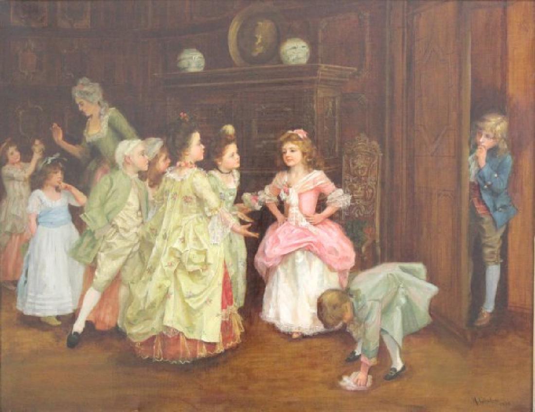 "Henry Guillard Glindoni, ""The Birthday Party"""