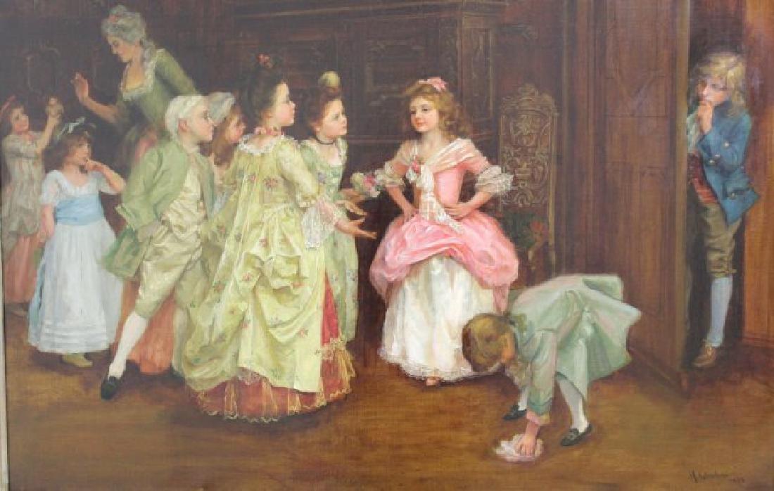 "Henry Guillard Glindoni, ""The Birthday Party"" - 3"