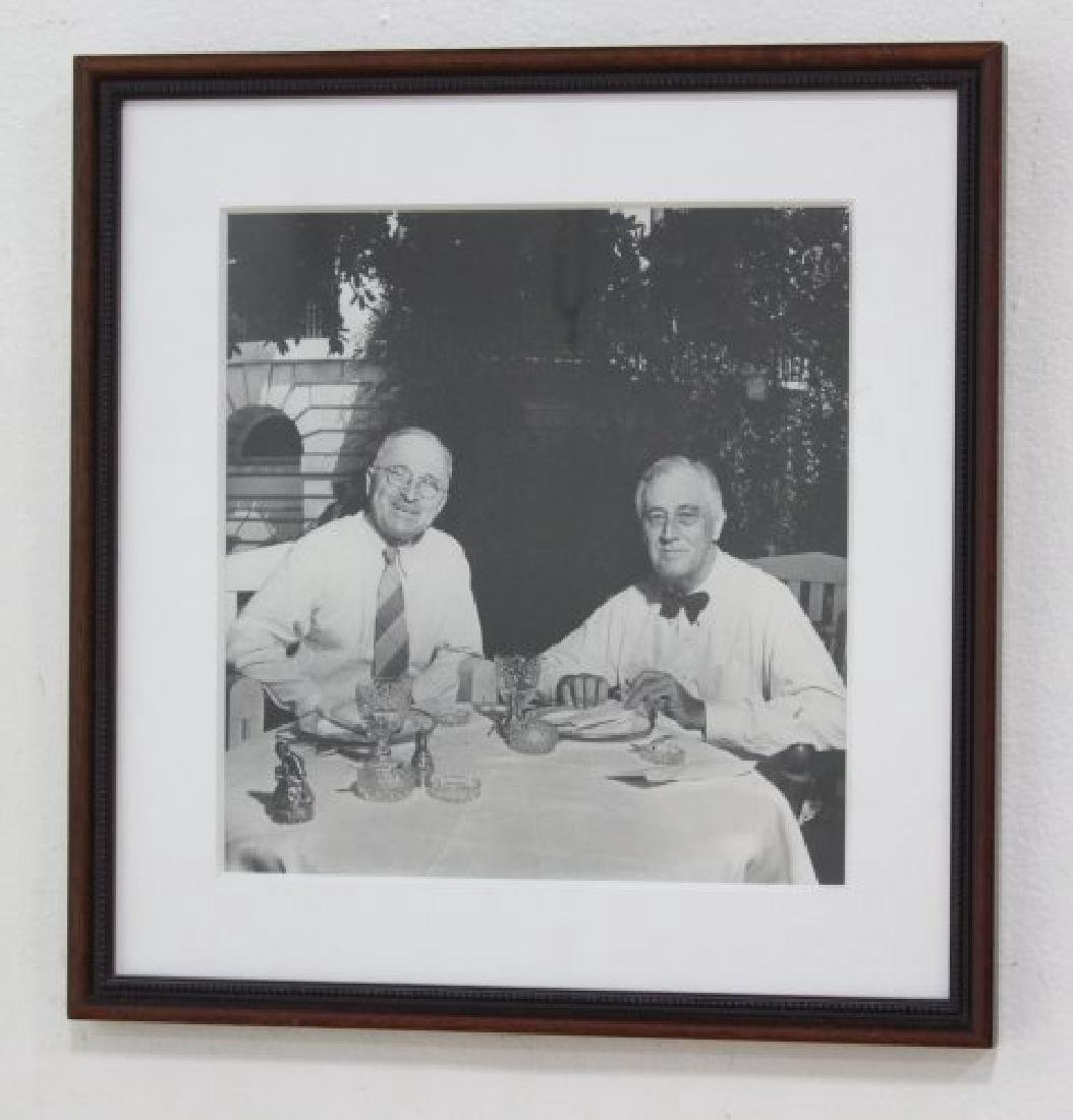 Attr. to George Tames, Photo of FDR & Truman