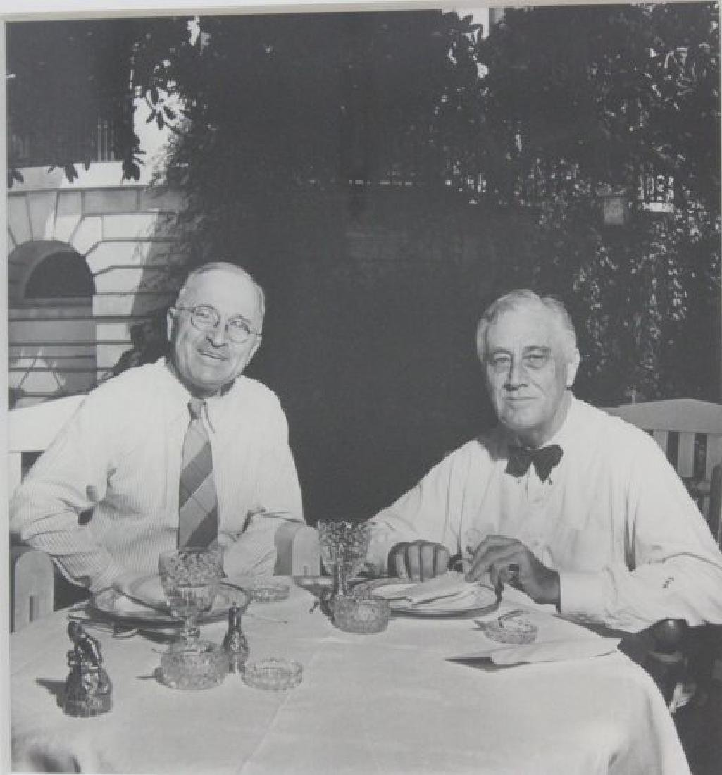 Attr. to George Tames, Photo of FDR & Truman - 2