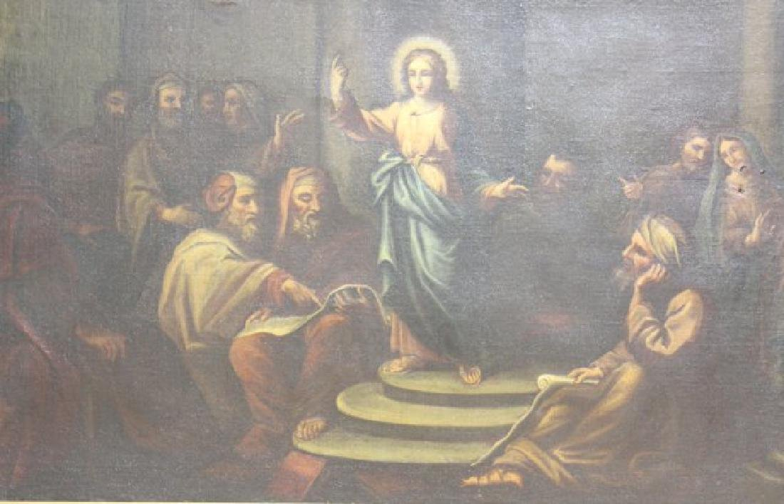 Large Old Master, Christ and the Elders
