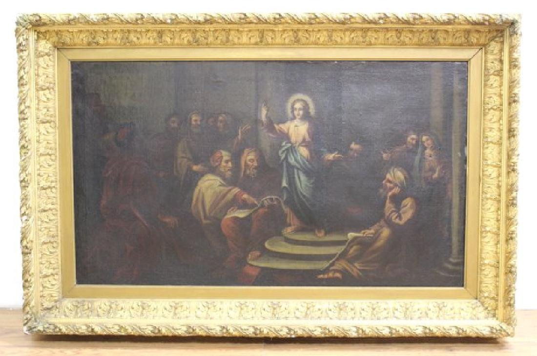 Large Old Master, Christ and the Elders - 2