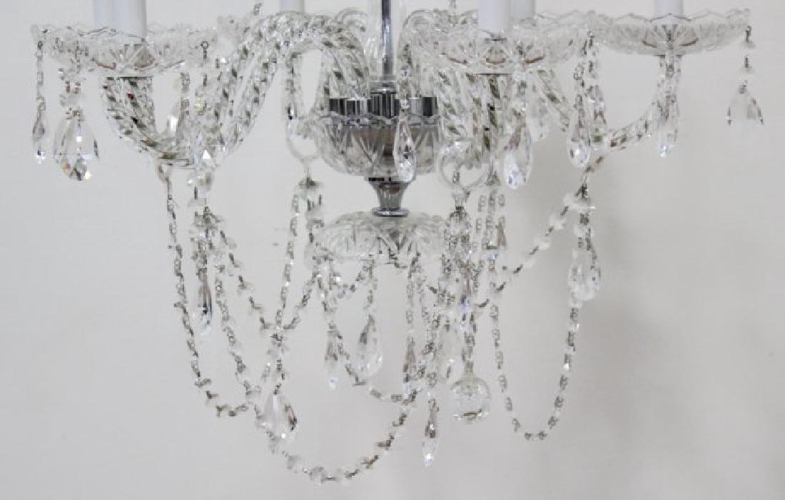 6-Light Crystal Chandelier - 3
