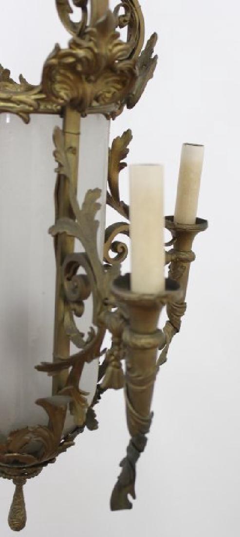Louis XV Style Brass 5-Light Chandelier - 3