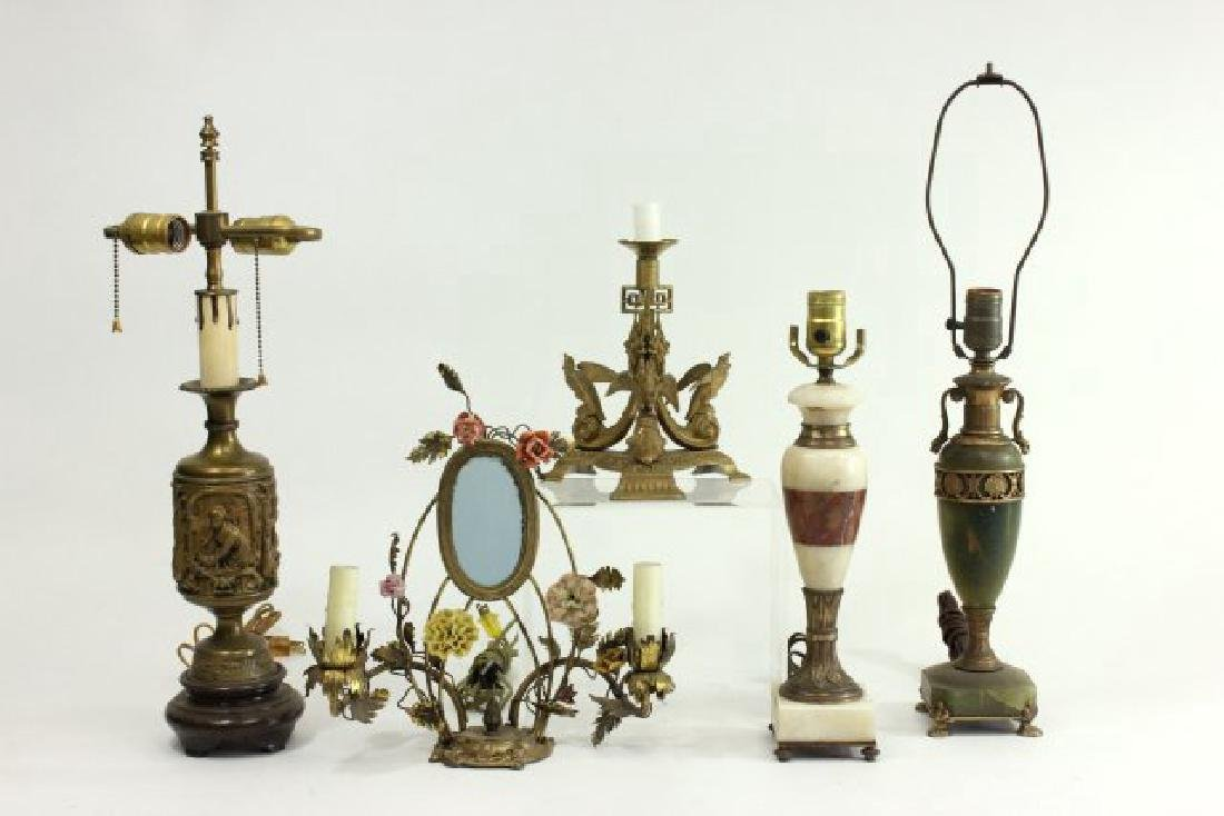 5 Neoclassic Style Lamps