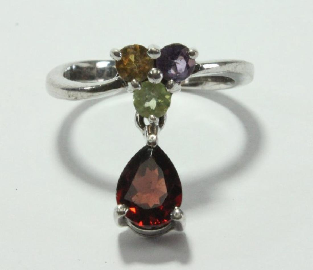 3 Jadeite Pendants & Ring - 2