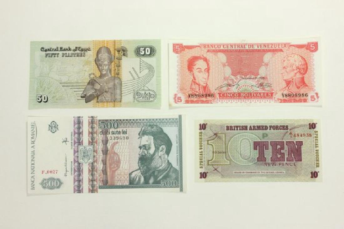 14 Pieces of World Currency - 8