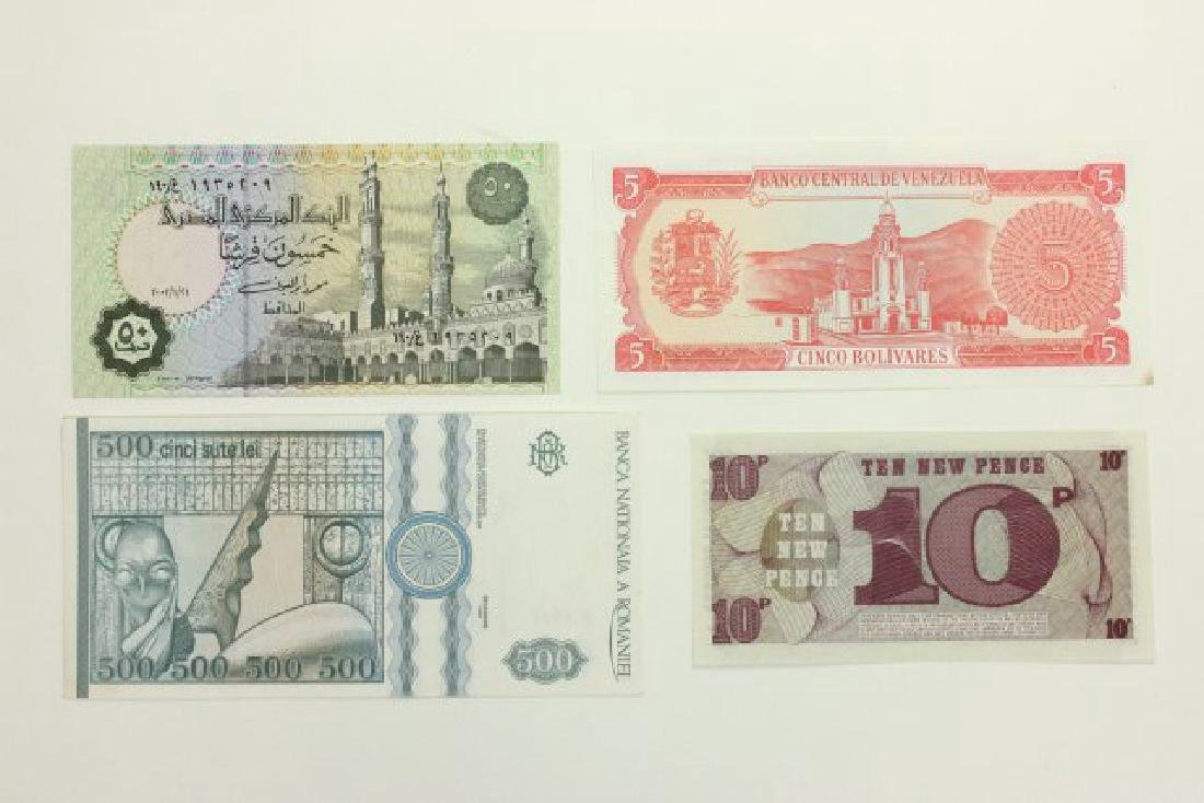 14 Pieces of World Currency - 9