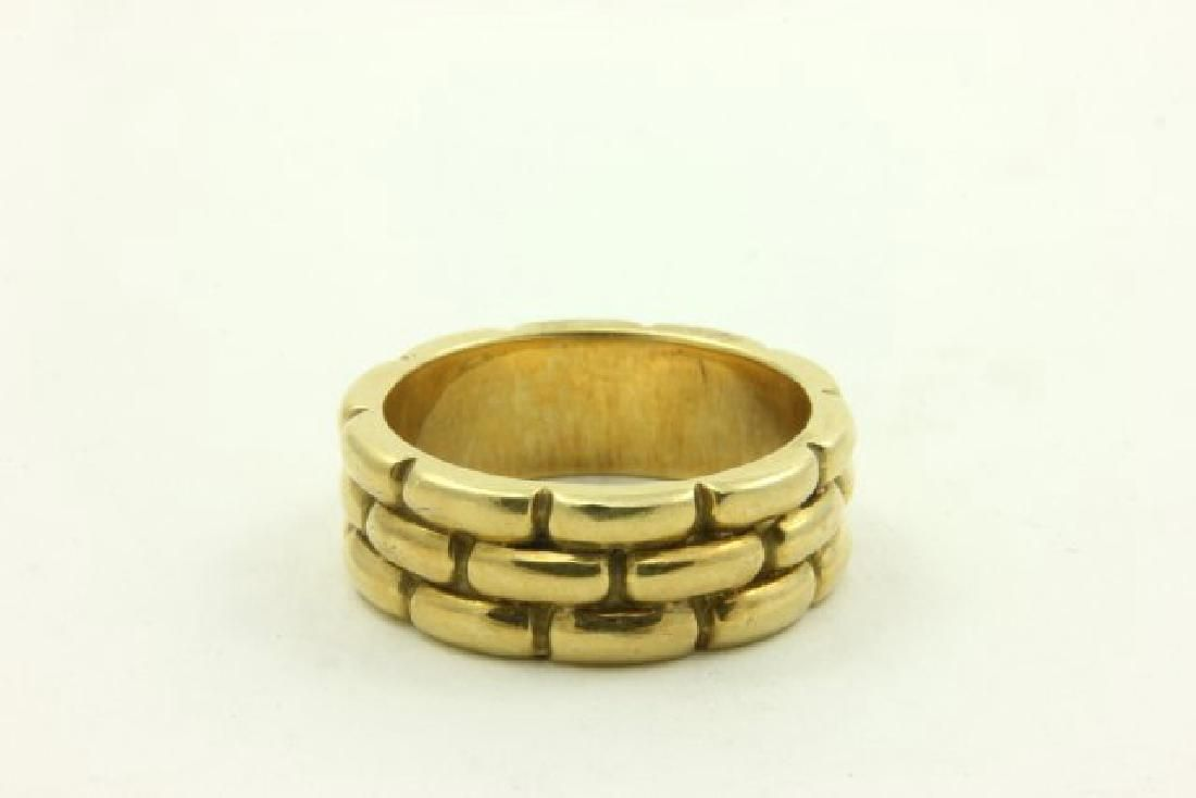 18K Gold Gucci Band Ring