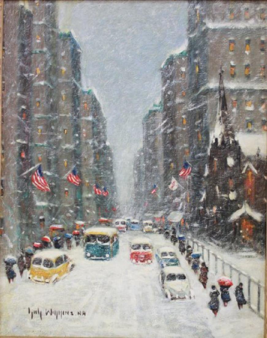 "Guy Carleton Wiggins, ""Snowy Day"""