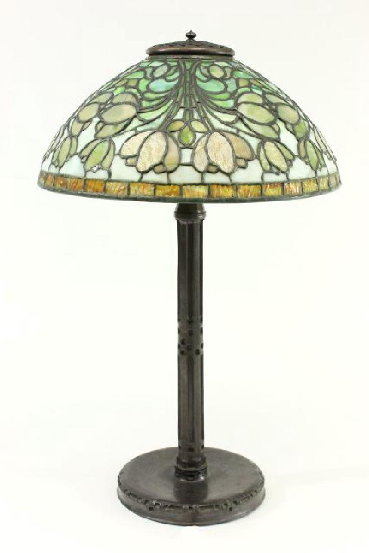 Tiffany Studios Crocus Table Lamp