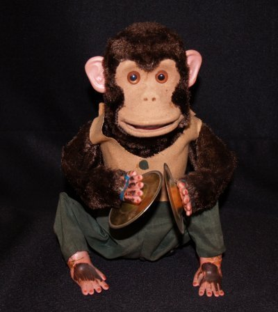 44: TOY CHIMP PLAYING CYMBALS