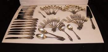 202 WALLACE GRAND BAROQUE STERLING SILVER FLATWARE