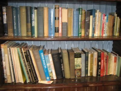 811: LOT OF BOOKS