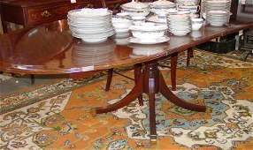 899: BAKER BANDED DINING ROOM TABLE
