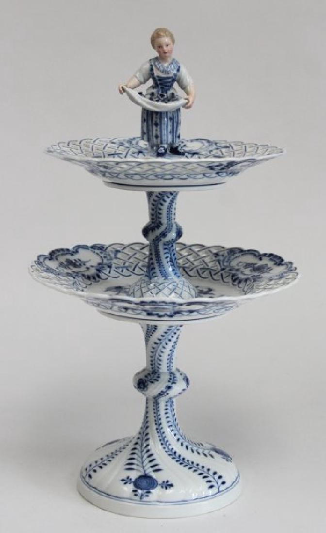 Meissen 2-Tier Serving Tray