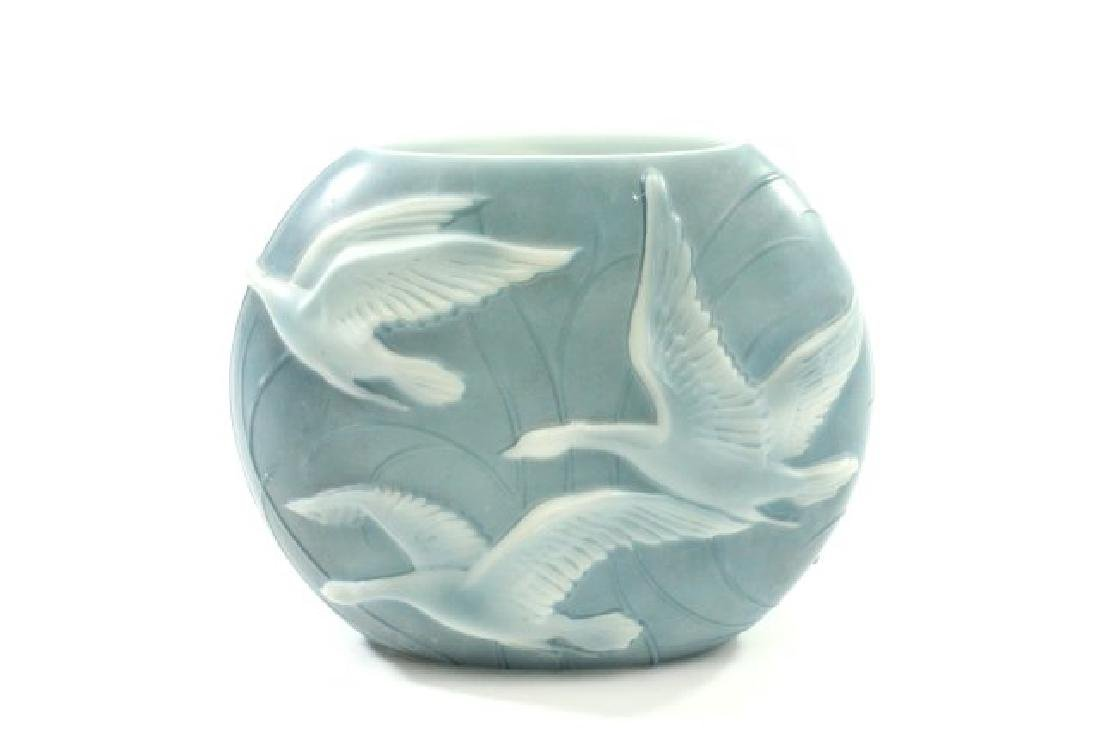 Vintage Phoenix Glass Vase