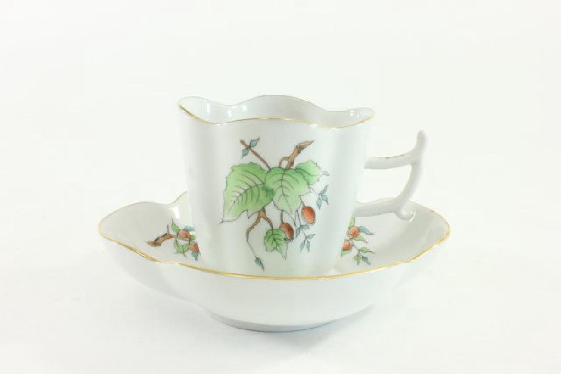 6-Piece Herend Demitasse Cups & Saucers - 2