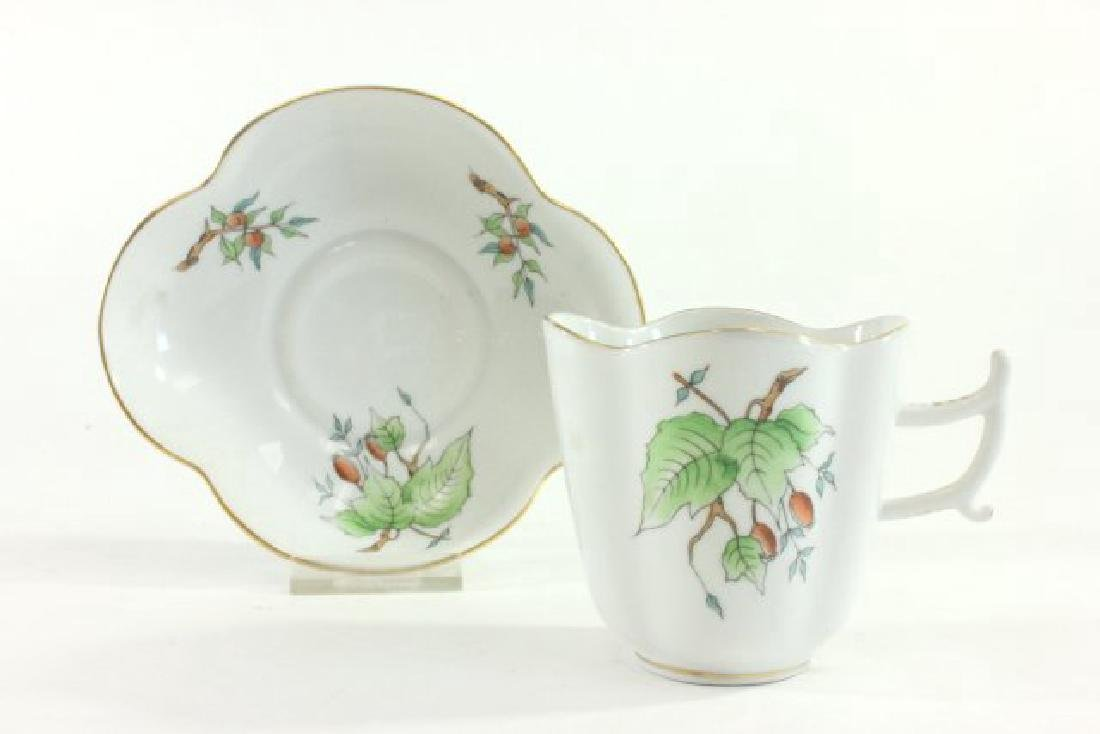 6-Piece Herend Demitasse Cups & Saucers - 3