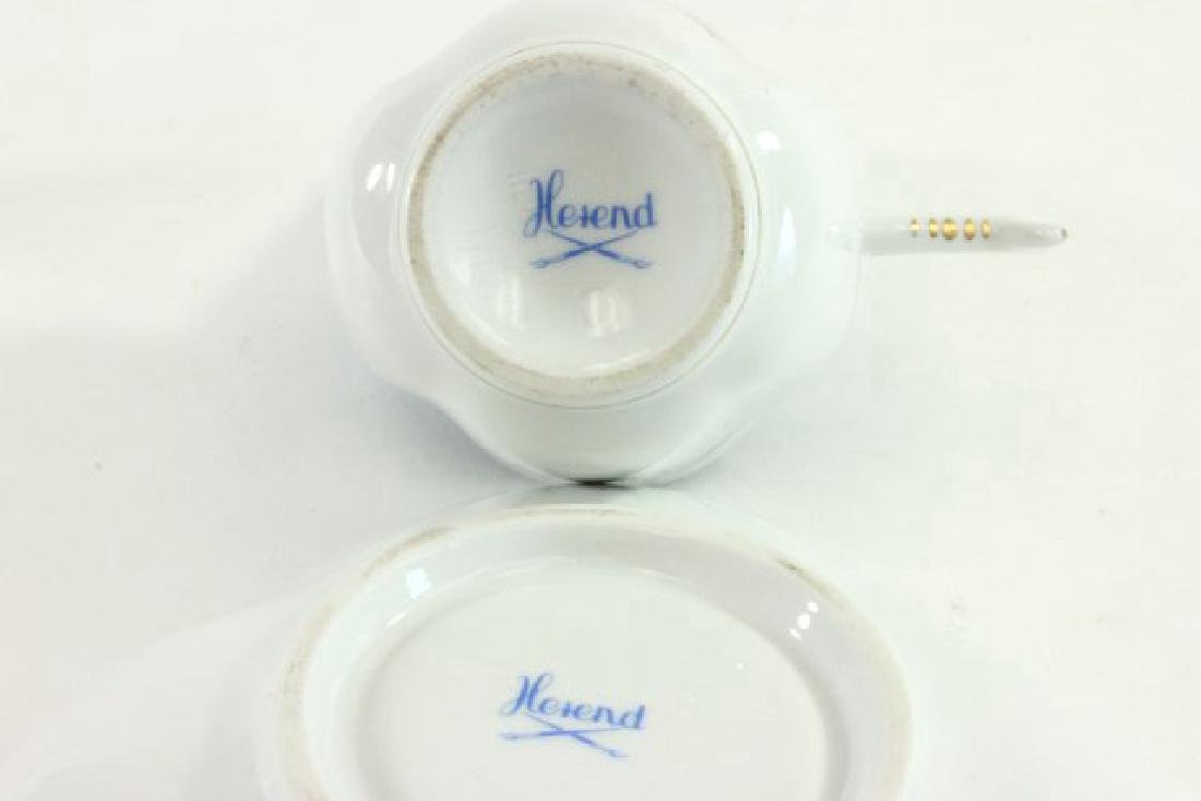 6-Piece Herend Demitasse Cups & Saucers - 4
