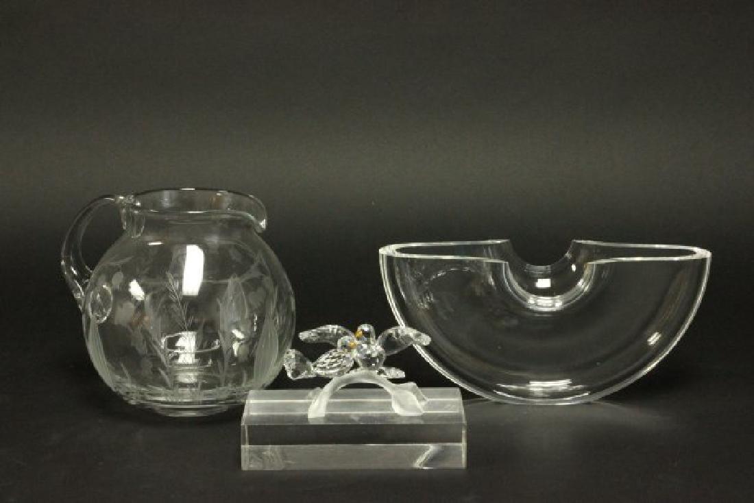 Glass & Crystal Lot, Including Swarovski & Steuben
