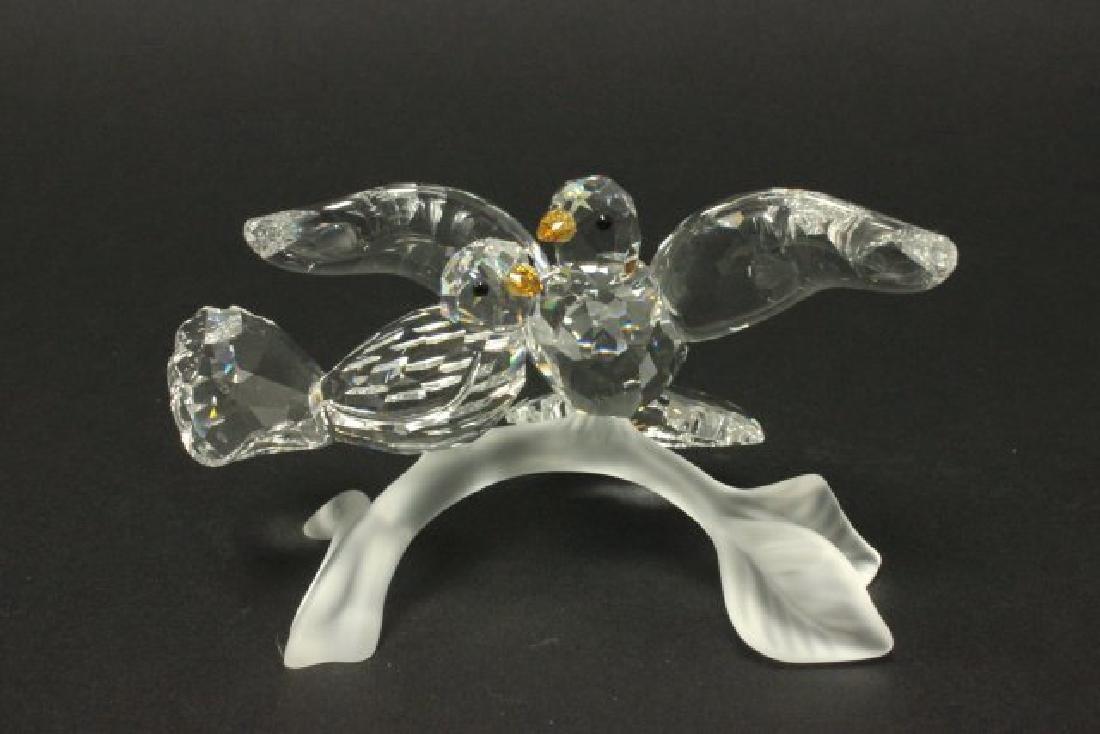 Glass & Crystal Lot, Including Swarovski & Steuben - 6
