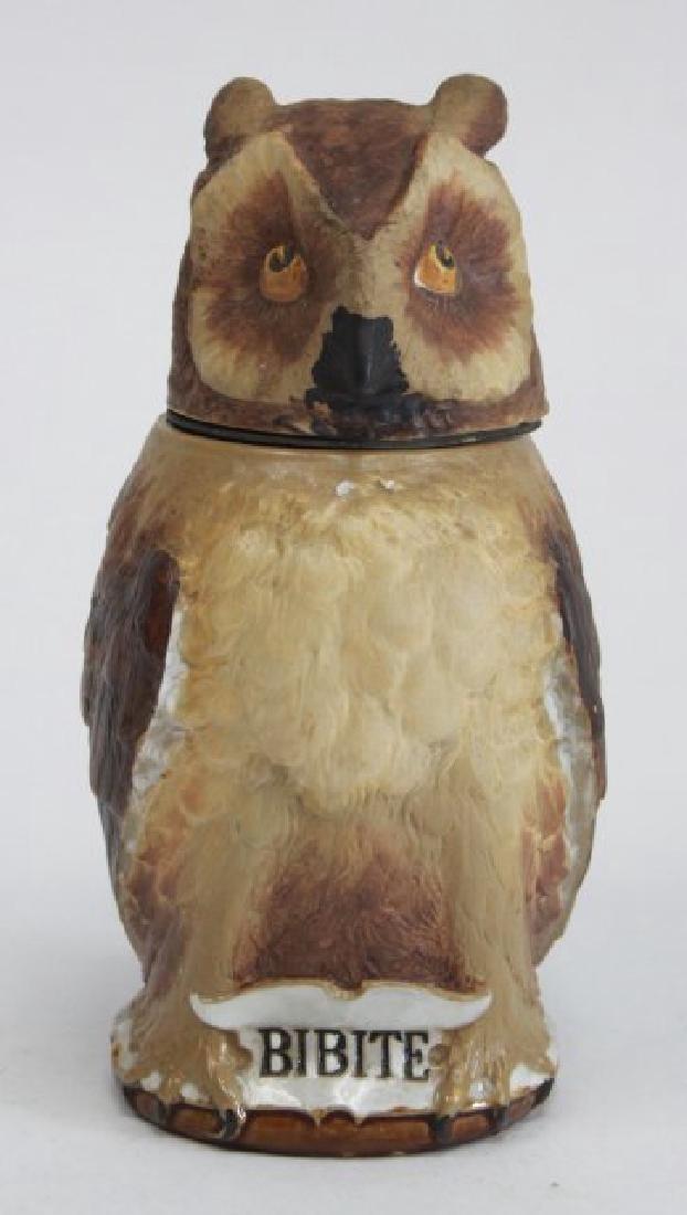 Villeroy & Boch Owl Stein Mettlach