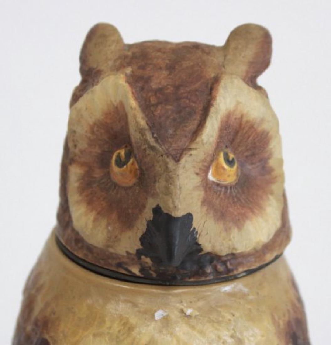 Villeroy & Boch Owl Stein Mettlach - 2