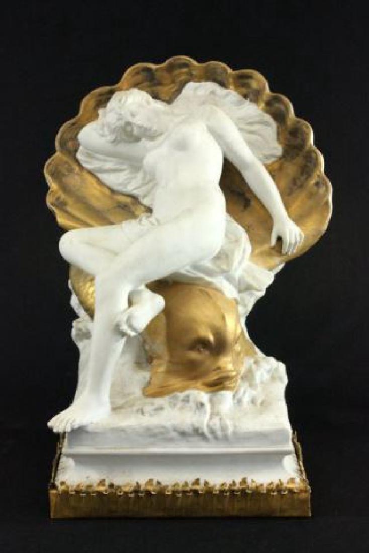:Unglazed French Porcelain Sculpture